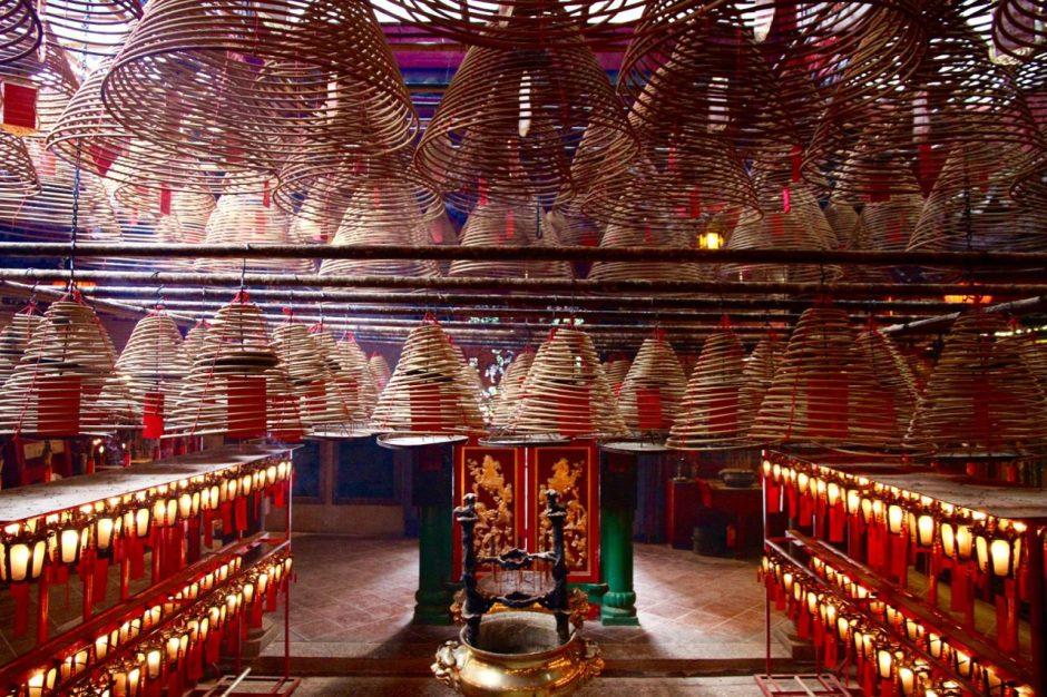Man Mo Temple Inside