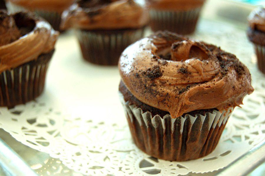 Magnolia Bakery Devils Food Cupcakes