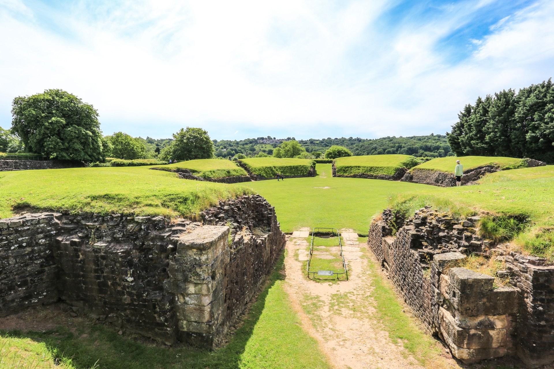 The Roman Amphitheatre in Caerleon