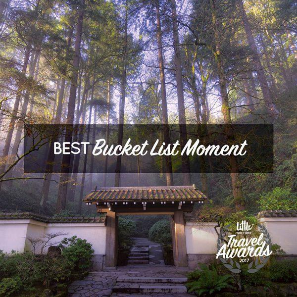Best Bucket List Moment