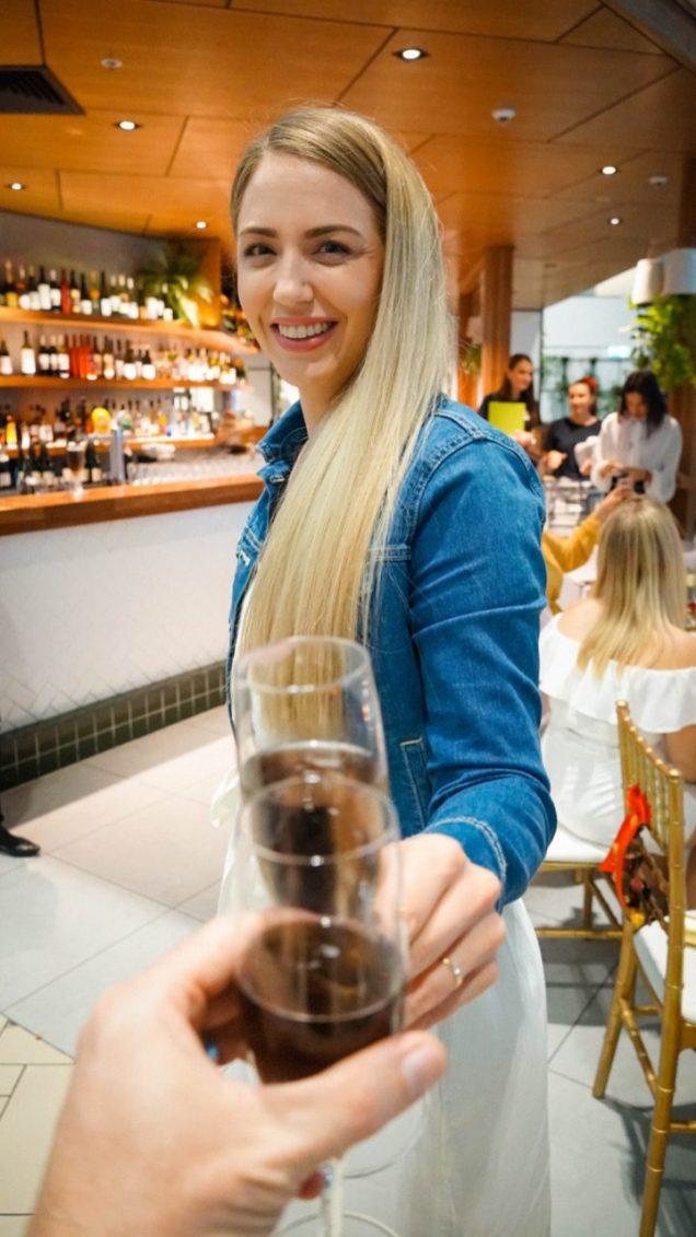 Brisbane Airport Christmas Dinner Food - 20
