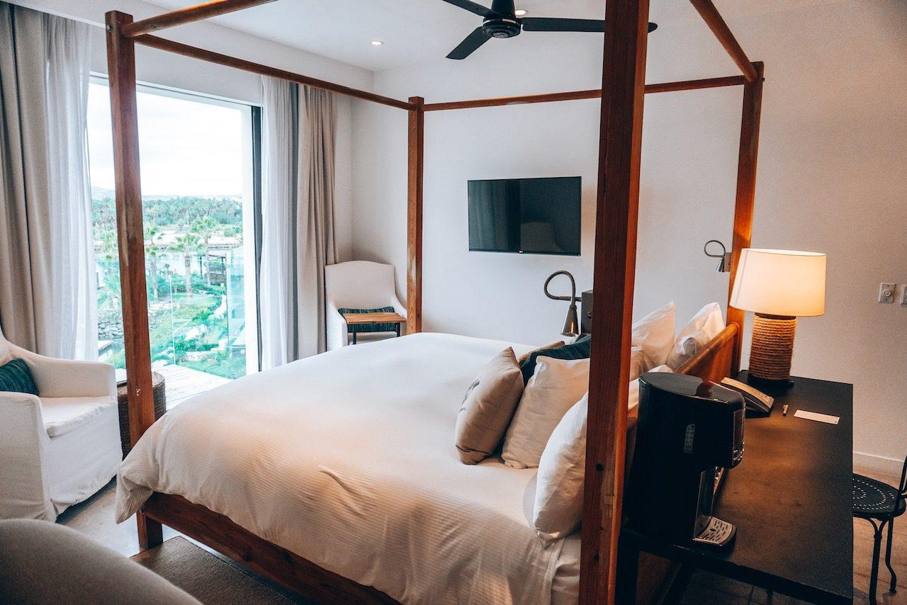 Our bedroom at El Ganzo