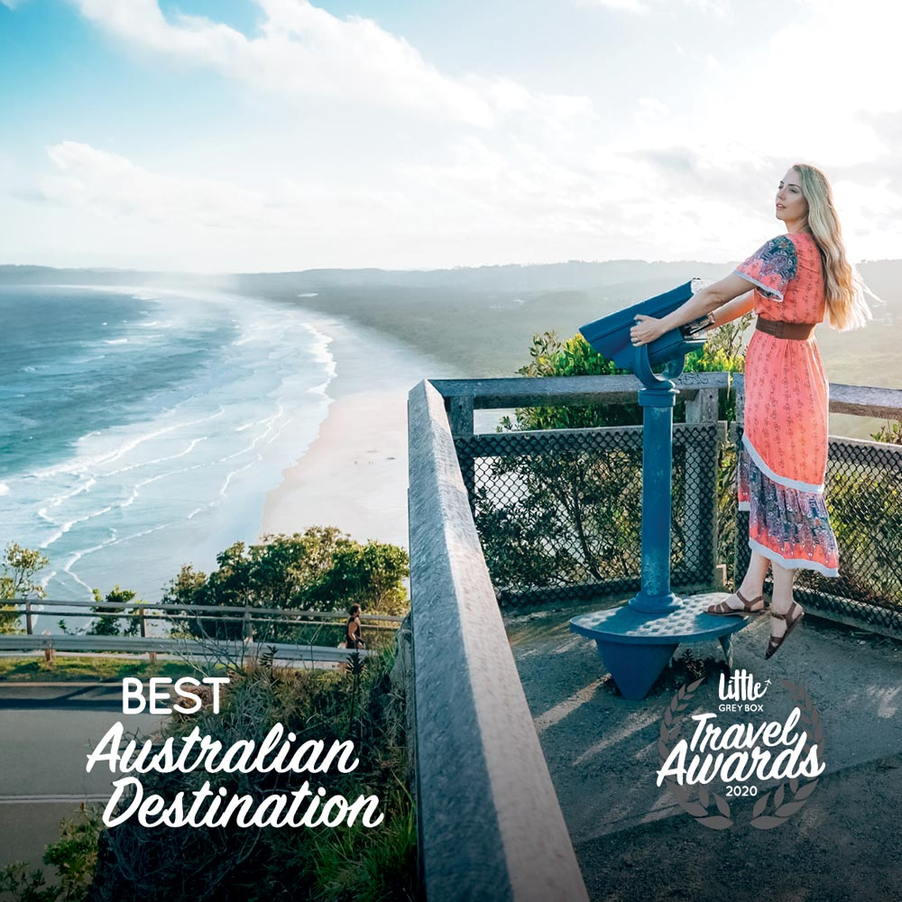 Byron Bay, Winner Best Overseas Destination 2020