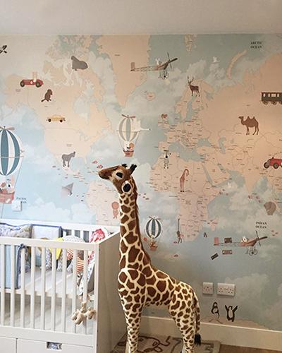 LH – Adventures World Map Room