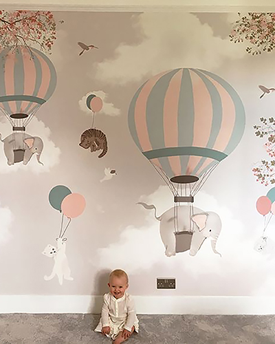 LH – Falling Cats Room