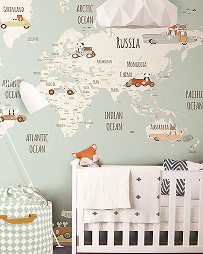 LH – Little Munnies Racers World Map Room