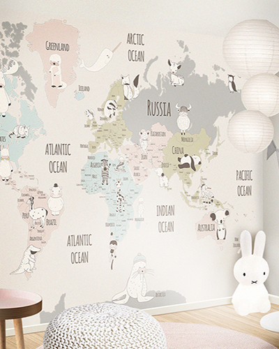 World maps little hands colourful world map gumiabroncs Choice Image