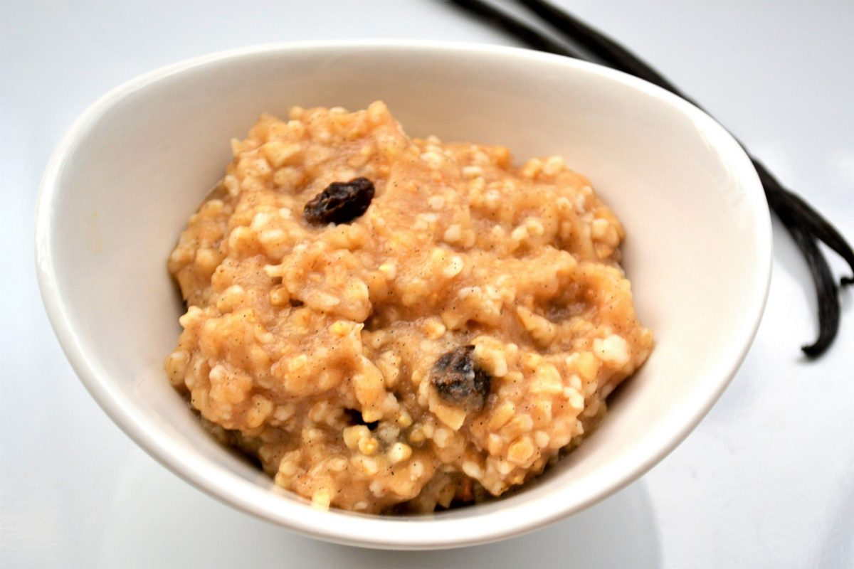 apple crumble oats recipe