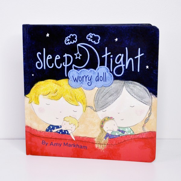 Sleep Tight Worry doll book - front cover