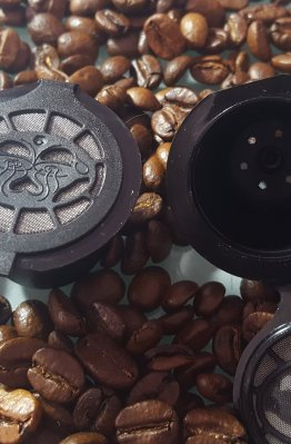 Nesspresso refillable coffee pod