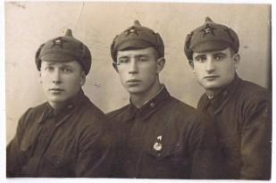 Красноармейцы. 1930-е годы.