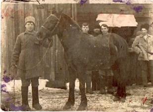 Конный отряд. 20-е годы.