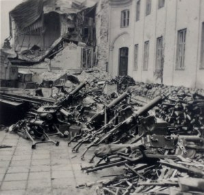 Трофейное оружие в Варшаве
