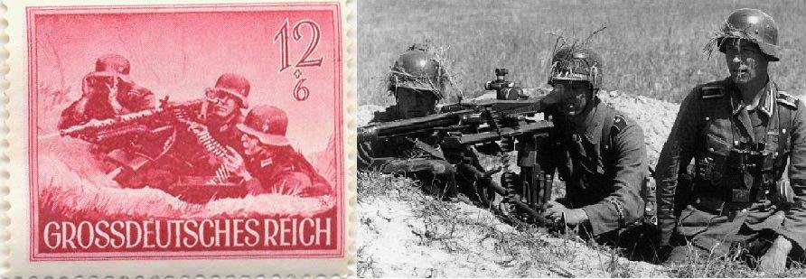 Пулеметчики дивизии Вермахта