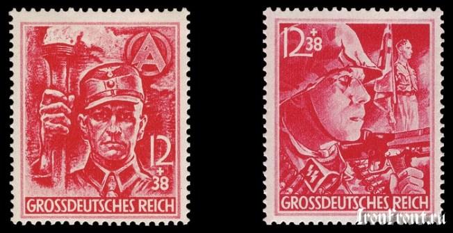 «Солдат подразделения SA» и «Солдат подразделения SS»