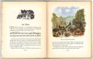Акт 3.Детское издание оперы Кармен, 1938 г Нью-йорк.Гроссет & Данлэп (Гильдия Метрополитен-оперы)
