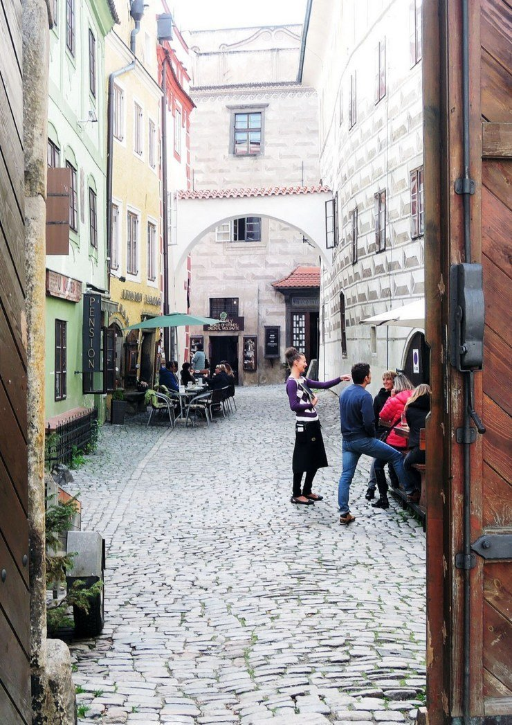 A peek into the fairytale town of Cesky Krumlov in the Czech Republic. While the town may seem frozen in time, it's very much alive with the sound of chatter, laughter, and music. Enjoy Cesky Krumlov's fairytale vibe with this travel guide.