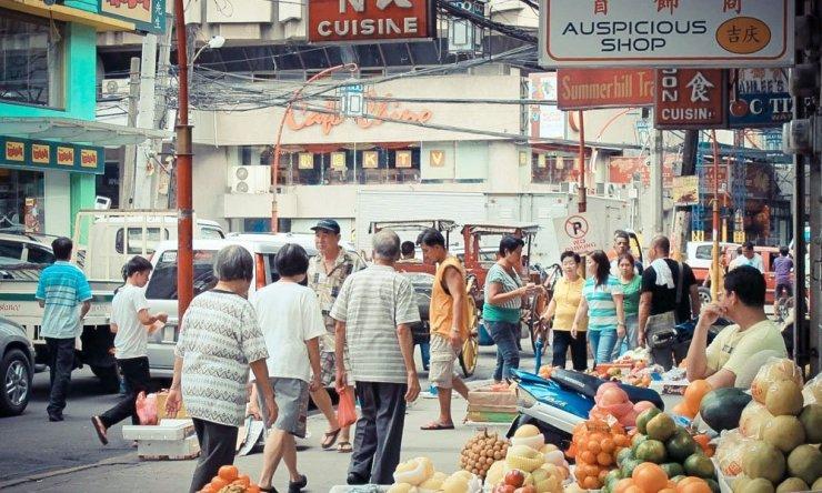 Street in Binondo Manila