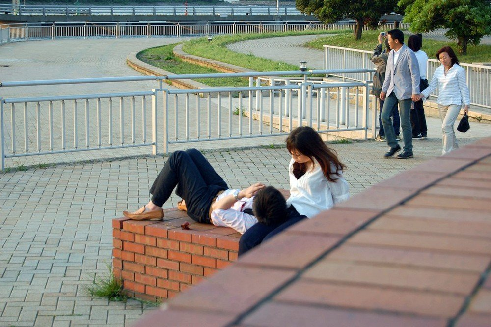Odaiba is for low-key dates like this