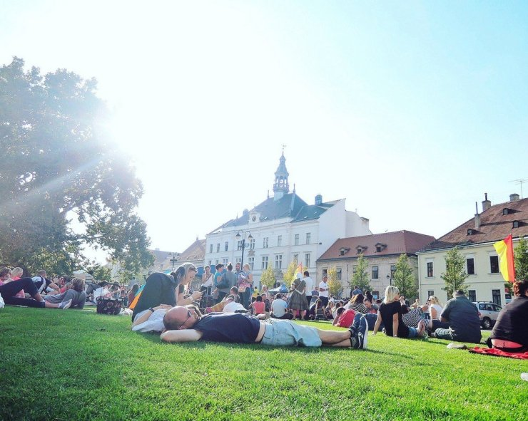 South Moravia wine festival at Valtice