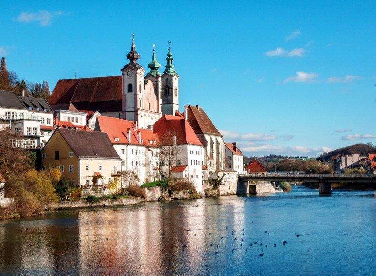Steyr - driving from Vienna to Salzburg