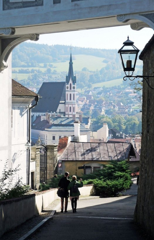 If you're visiting the Czech Republic, don't miss the magical old town of Cesky Krumlov.