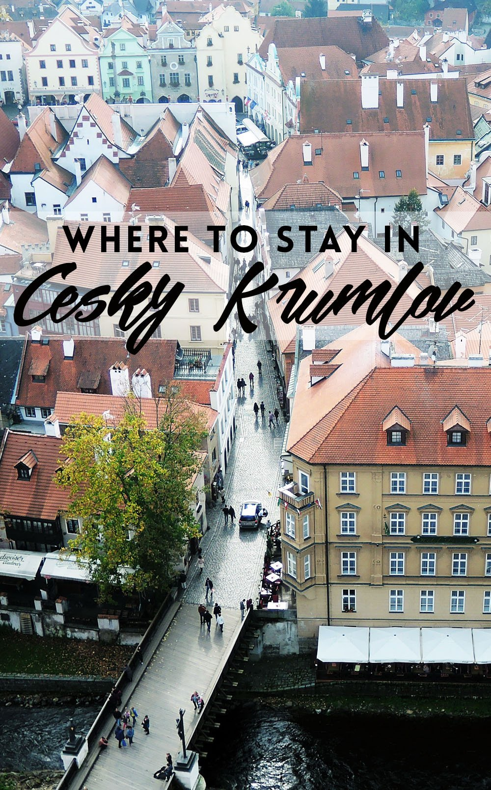 From its medieval castle to its meandering cobbled alleys, Cesky Krumlov is the stuff of fairytales. If you're still wondering whether you should take a day trip or stay for longer, trust me: whether you plan to stay a day, a week, or a month, you'll want to stay a day longer than that. Here's where to stay in Cesky Krumlov.