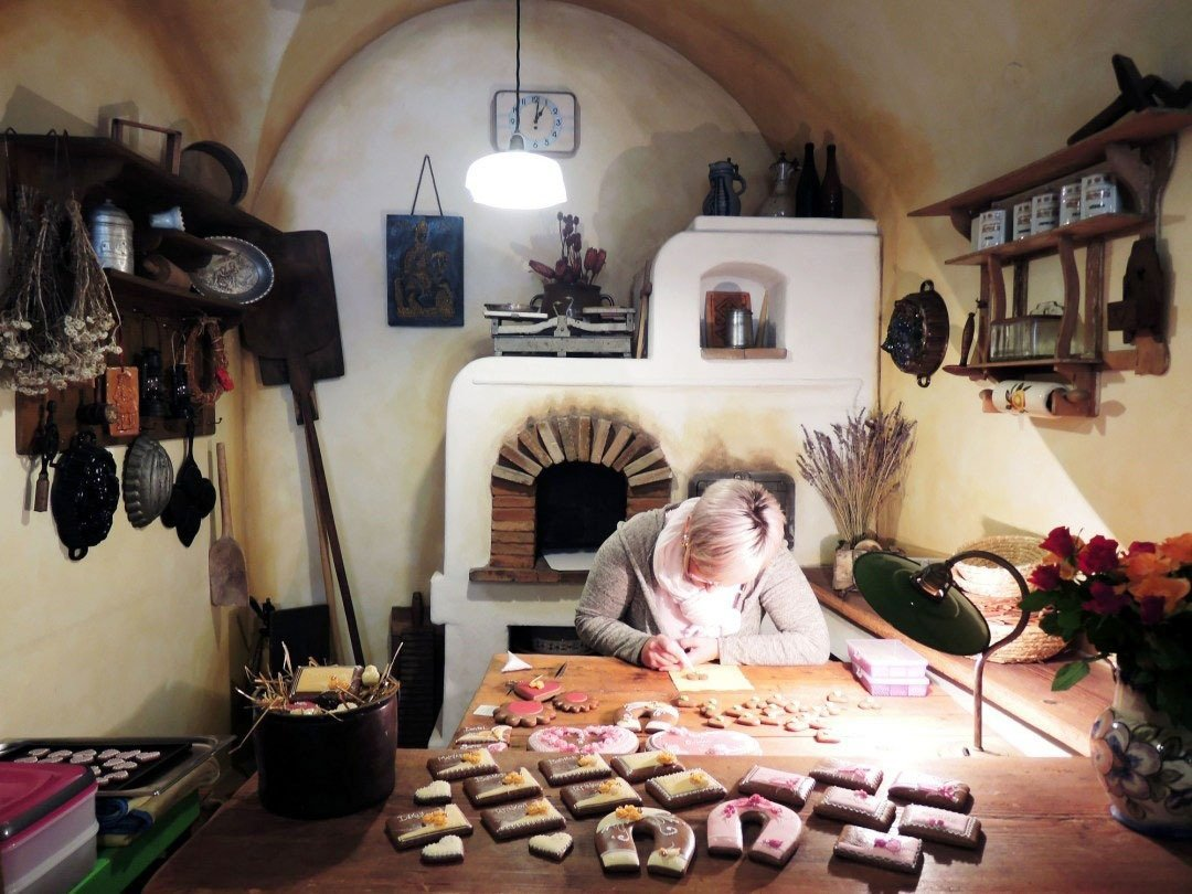 Cesky Krumlov's gingerbread makers creating tasty pastries that come with centuries' worth of artisanal history.