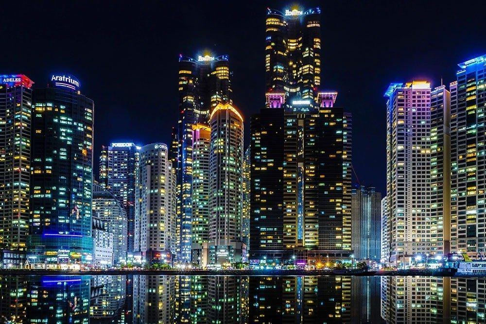 Busan is as gorgeous as night as it is by day. You'll never run out of things to do in this city.