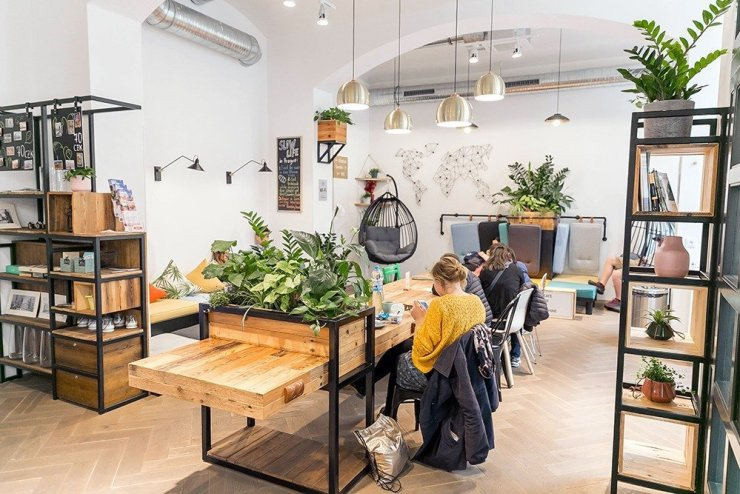Where to stay in Prague - DREAM hostel has bright and cheery rooms and interiors that's perfect for solo travelers and digital nomads looking to experience Prague as locals do
