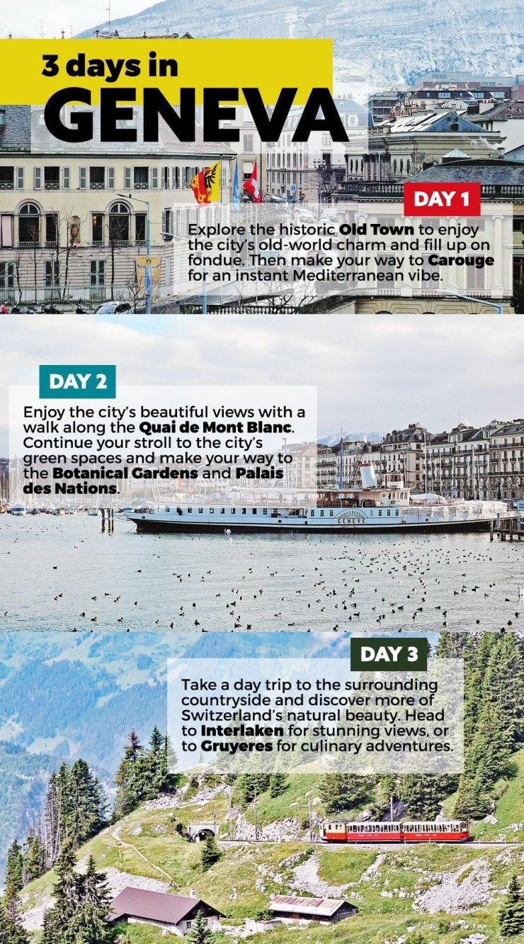 3 days in geneva switzerland best things to see and do