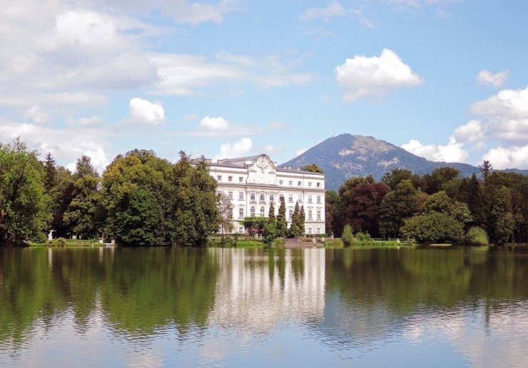 """The beautiful Schloss Leopoldskron is a national historical monument and the setting of many scenes in """"The Sound of Music."""" The tour brings you to the film's most popular locations and is one of the best ways to see Salzburg's top sights and learn a bit about the city's history and traditions."""