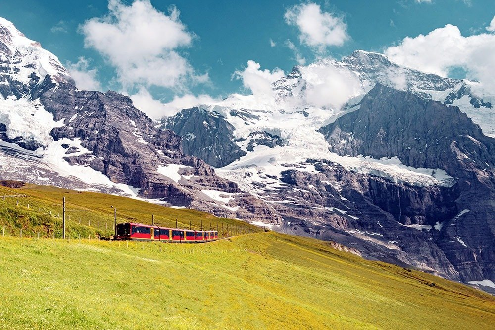 This is definitely the star of the Jungfrau region – the epic train ride to Jungfraujoch, Europe's highest railway station