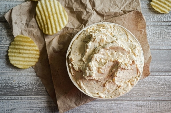 This recipe for French Onion Dip uses PANTRY ingredients, but is still made from scratch! As easy as making it from a packet, but half the cost! Food from scratch is always better.