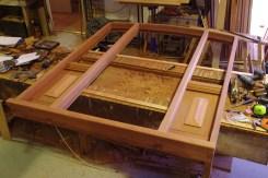 Door frame in Barry's workshop