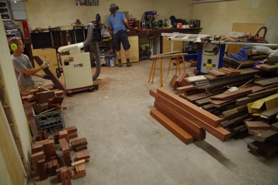 A busy workshop