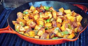 Barbecued Potatoes on the Grill4