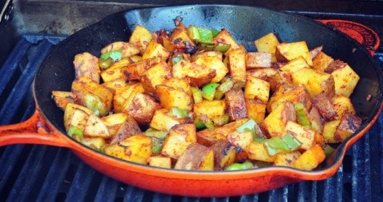 Barbecued Potatoes on the Grill