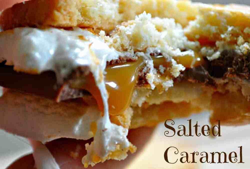 Salted Caramel S'mores