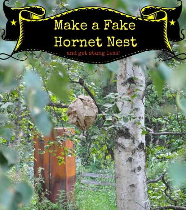 DIY Fake Wasp, Hornet and Meat Bee Nests