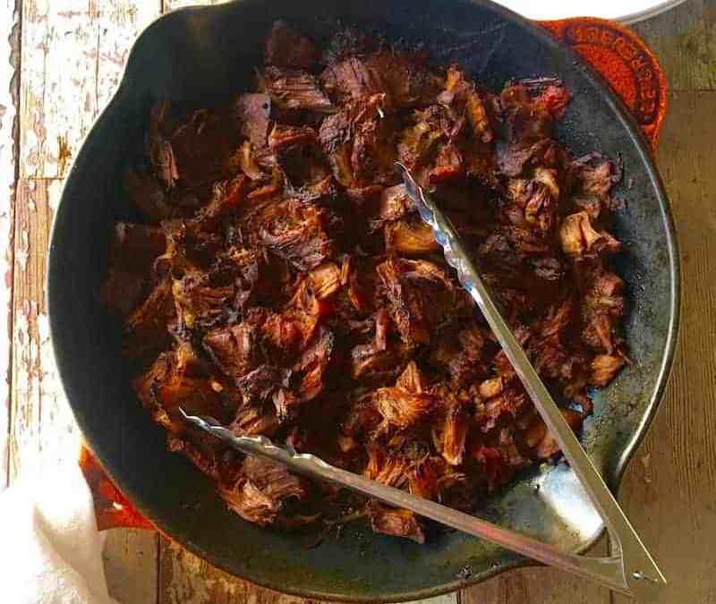 Slow Cooker/Crock Pot Beef Carnitas
