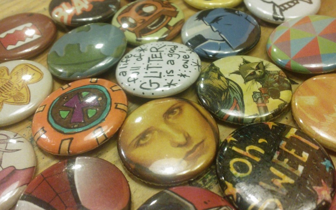 button making party!