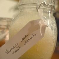 Lemony Sea Salt Scrub