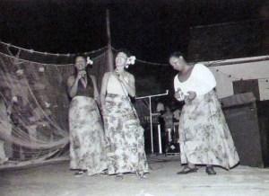 The Lockhart sisters perform