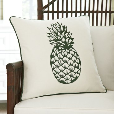 Birch Lane Pineapple Pillow Cover