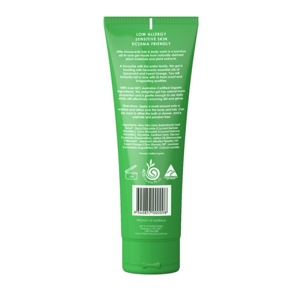 Spearmint Hair & Body Wash Back