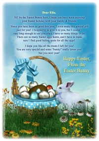 Free printable easter bunny letter templates merry christmas and free printable easter bunny letter templates spiritdancerdesigns Image collections
