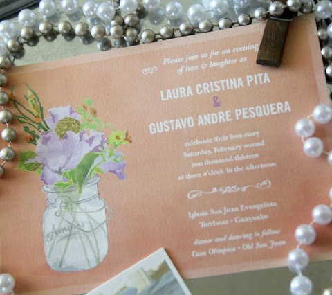 The Wedding Diaries: Stationery