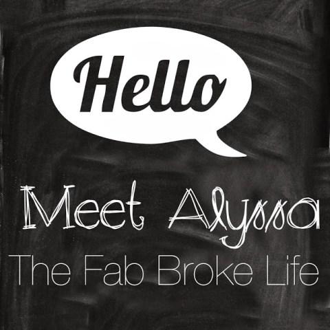 My Lovely Sponsor – The Fab Broke Life