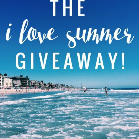 I Love Summer Giveaway! – Foreign Room